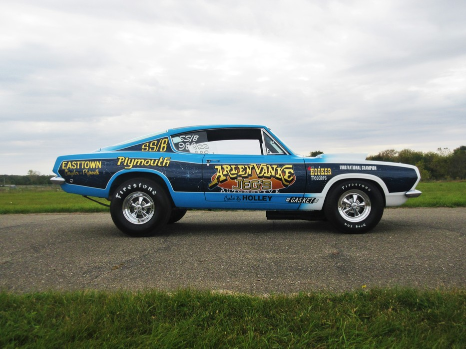 Factory Drag Car: An Original Super Stock 1968 B029 Hemi ... |Cuda Stock Car